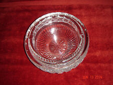 Waterford Crystal Large Ash Tray or Candy Dish Vintage   New   Never Used