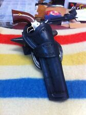 CUSTOM MADE HOLSTER FOR 1858 REMINGTON RIGHT HAND CROSS DRAW COWBOY ACTION