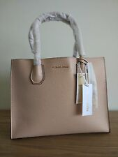 Michael Kors Mercer Large Leather Tote  -price tag,care card, QR code dust bag
