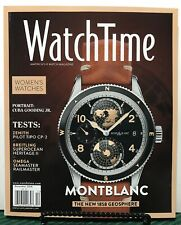 Watch Time Montblanc Women's Watches Tests Zenith Dec 2018 FREE SHIPPING JB