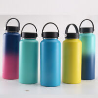 Bottle Flask Hydro Insulated Mouth Portable Stainless Steel Travel Vacuum Wide