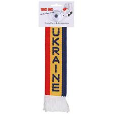 LKW Auto Minischal Ukraine Mini Schal Wimpel Saugnapf Spiegel Deko Flagge Fahne