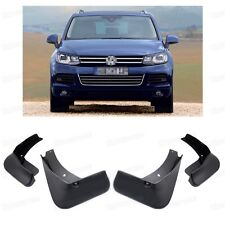 Front & Rear Car Mud Flaps Guard Fender Mudguard for VW Touareg SUV 2011-2016 Up