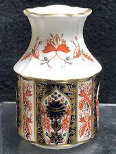 Royal Crown Derby Old Imari Pattern Bud Vase