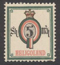 Helgoland Mi. Nr. 20A* geprüft Engel 180 Euro
