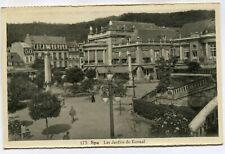 CPA - Carte Postale - Belgique - Spa - Les Jardins du Kursaal - 1936 ( DD7277)