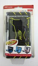 Nerf Armor Nintendo 3DS DSi DS.Lite Maximum Protection Case Shell Black Yellow
