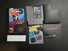 Excitebike Black Box game Authentic Nintendo NES EXMT condition COMPLETE n box!