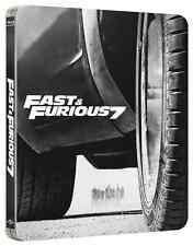 A TODO GAS 7 ( Fast & Furious 7)  METAL STEELBOOK BLURAY EN CASTELLANO / INGLES