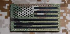 Infrared Multicam IR US Flag Patch Army Special Forces Green Beret CAG VELCRO®