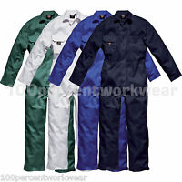 Dickies Redhawk WD4819 Economy Stud Front Mens Work Coverall Overall Boiler Suit