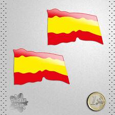 STICKER BANDERA ESPAÑA SPAIN FLAG PEGATINA DECAL AUTOCOLLANT AUFKLEBER ADESIVI