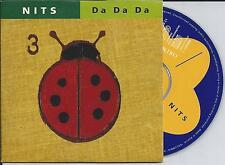 THE NITS - da da da CD SINGLE 2TR CARDSLEEVE 1994 HOLLAND