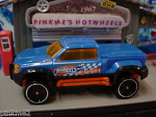 2013 AUTO MOTION SPEEDWAY Design Ex MEGA-DUTY truck∞Blue∞New LOOSE∞Wall Tracks