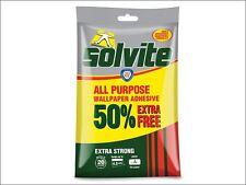 Solvite - All Purpose Wallpaper Paste Sachet 3 Roll + 50% Free