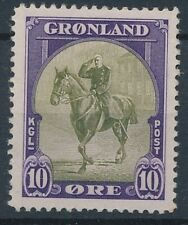 [644] Greenland good old stamp very fine MH