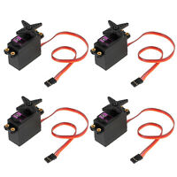 4PCS High Speed MG996R Metal Gear Torque Servo For Sanwa Futaba RC Truck Racing