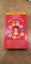 Once Upon A Potty, For Her (Original VHS, 1990)