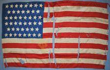 "46 Star U.S. Flag, 24"" x 15"" - Circa 1908-1912"