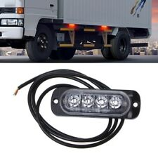 4LED Red Emergency Strobe Light Bar Warning Flash Flashing Truck Car Headlight