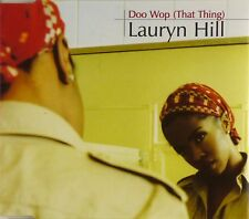 CD Maxi-Lauryn Hill-doo wop (That Thing) - #a3528