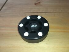 Black Puck Inline Roller Hockey Street Puck