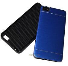 Funda Carcasa para BQ AQUARIS M5 Resistente y Elegante metalica Colores