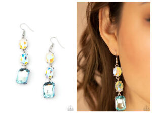 NWT! Paparazzi ~ Dripping In Melodrama ~ Blue Earrings