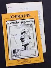 SCHTROUMPFANZINE 25 - 1978 - Christian Godard, Roger Leloup, Goossens + suppl.