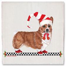 Corgi Pembroke Welsh Christmas Kitchen Towel Holiday Pet Gifts