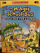 THE MAGIC SCHOOL BUS - Field Trip Fun & Games - 3 DVD Box Set