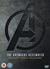 Marvel Studios Avengers 1-4 Complete Boxset