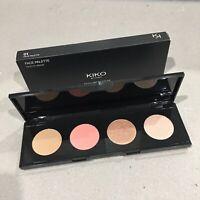 KIKO MILANO Blush Bronzer Highlighter Face Makeup Palette 01 NEW