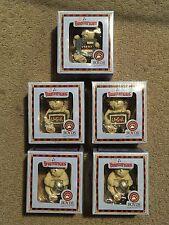 5 Lil Bearmericans Boyds Bears / Christmas / Ornaments / NIB
