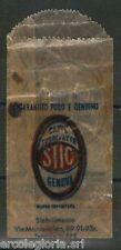 61032 - Vintage SUGAR SACHET - BUSTINA ZUCCHERO D'EPOCA: caffè STIC  GENOVA 40'
