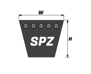 Keilriemen Schmalkeilriemen SPZ + XPZ  bis 3550 Lw