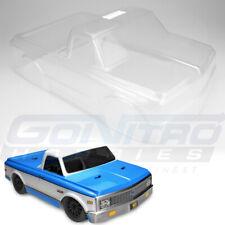 JConcepts 1/10 1972 Chevy C10 Slash 4x4/Scalpel Spd Run Pickup Truck Clear Body