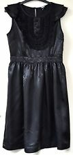 Asos – black satin sleeveless summer dress – size 10 NWOT