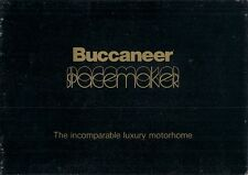 Buccaneer Spacemaker Motorhomes 1977 Brochure Bedford CF Commer Transit Sherpa