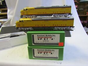 OVERLAND MODELS 6140 ONION PACIFIC E7 A-A CUSTOM OMI PAINT PRE OWNED NIB