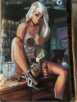 "Widow's Web #2 Cover F Mike Debalfo ""Sexy Happy Hour"" ltd 250 RARE"