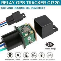 CJ720 Car Tracking Relay GPS Tracker Anti-theft Real Time Device GSM Locator