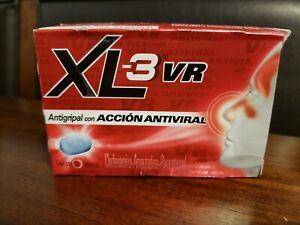 XL -3 tabletas caja con 24 tabletas antigripal (molestias del resfriado comun)