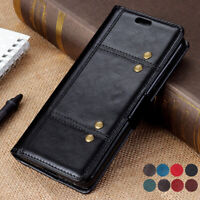 For Asus ZenFone Max Pro (M2) ZB633KL /ZB631KL Luxury Leather Wallet Cover Case