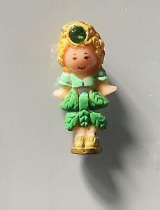 Vintage 1992 Polly Pocket Bluebird Emerald Royal Paradise Figure