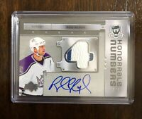 2006-07 The Cup Honorable Numbers Rob Blake Auto Patch 3/4 Kings NICE RARE CARD!