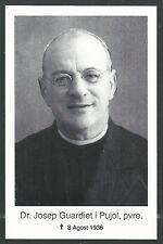 Holy card Martir Guerra Civil Española santino image pieuse