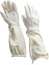 Medium Beekeeping Gloves, Goatskin Bee Keeping with sleeves VIVO