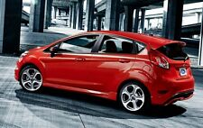 600189 Side skirts Ford Fiesta MK7 , only for Prefacelift 5 doors ABS