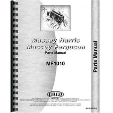 New Massey Ferguson 1010 Tractor Parts Manual
